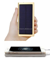 solar power bank portable solar charger 8000mah for mobile phone