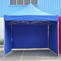 3x3m Outdoor Gazebo Pop Up Blue Party Tent Folding Marquee Canopy