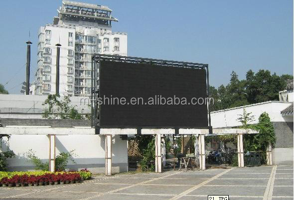 shenzhen P8 outdoor full color aluminum die cast rental usage
