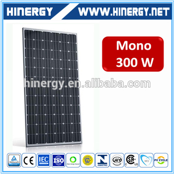 300w competitive price indoor color pv solar panel for sale