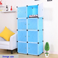 Christmas gift for kids in lovely color Diy 8 storage cubes