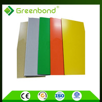 Greenbond free sample advertising signboard roof aluminum panel