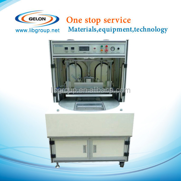Vacuum sealing equipment for li-ion button sealing machine after battery formation process GN-MC200