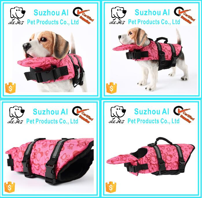 Pet Swim Preserver Coat Floatation Safety Vest Dog Life Jacket