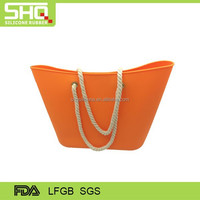 Waterproof silicone rubber beach bag