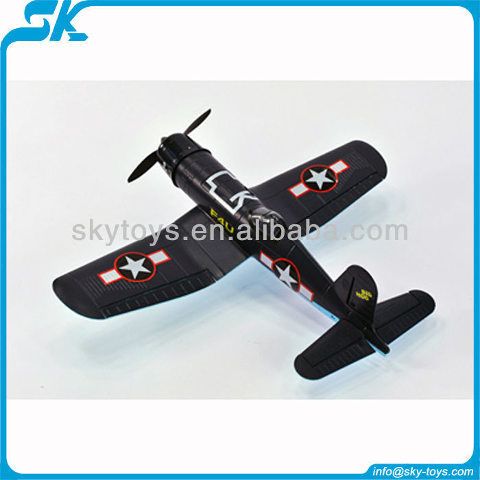 2 4g 4ch r c avion pirate f4u brushless et brosse avion. Black Bedroom Furniture Sets. Home Design Ideas