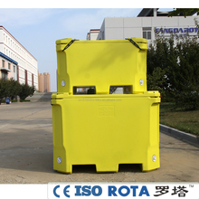 Rotational molding Industrial dry ice chest ice cool boxes for dry ice storage and transport