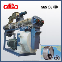 Rabbit food pellet making machine/Ring die poultry feed making equipment/auto feeding machine