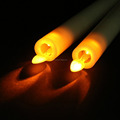 Yes Handmade and Tapered Shape Moving wick led taper candle
