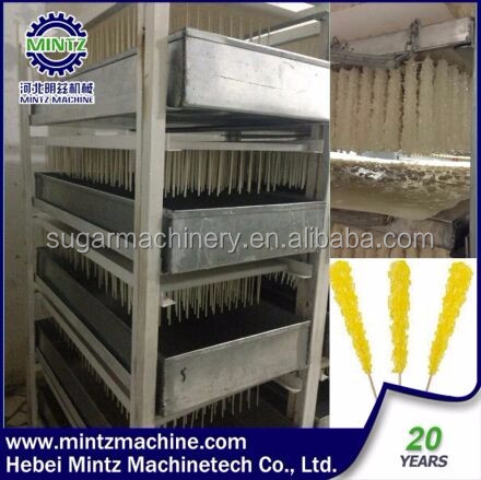 high yield rate wood rock candy stick making machine with lower price