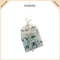 satin lined jewellery bag printing velvet pouch