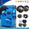 Professional 2t/h capacity peat briquette making machine / hydraulic briquette press machinery for sale