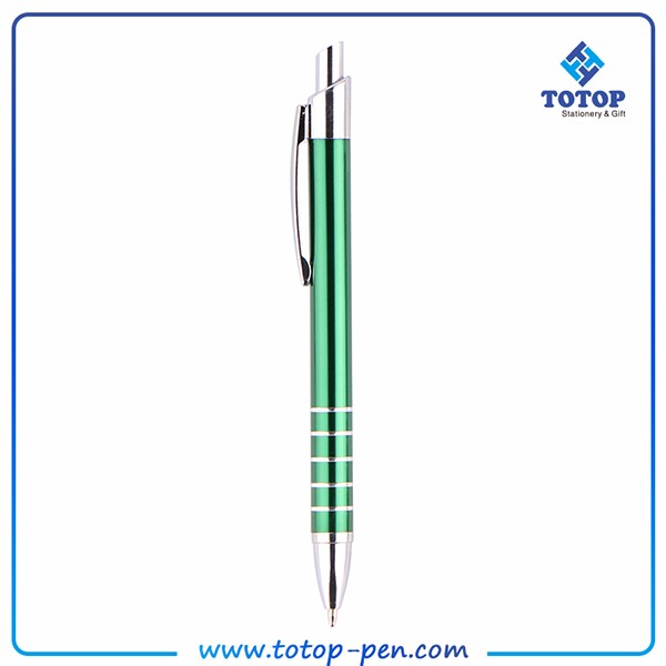 Social Audit factory Stationery wholesale from china metallic plastic pen