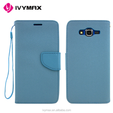 IVYMAX Hot sales Leather combo case bag Anti-shock Wallet phone case for Samsung J7