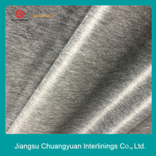 Hot rolling fusing nylon nonwoven silicone oiled backing interlining