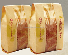 superior quality custom printed kraft paper bread bags