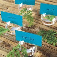Glass Vase Place Card Holders MH