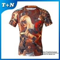 blank t shirt, clothing sublimation oem, t-shirt produce
