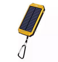 Alibaba top selling solar power bank 8000mah portable battery charger for mobile phone charger