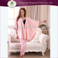 2016 New Fancy cotton flannel sleepwear set
