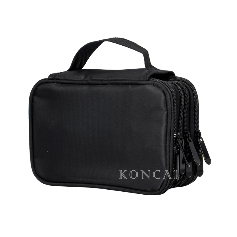 KONCAI New Makeup Brush Bag Pencil Holder Cosmetic Handbag Kit 5 layers KC-KM06B