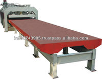 Polyurethane PU Sandwich Panel trolley type Press Machine