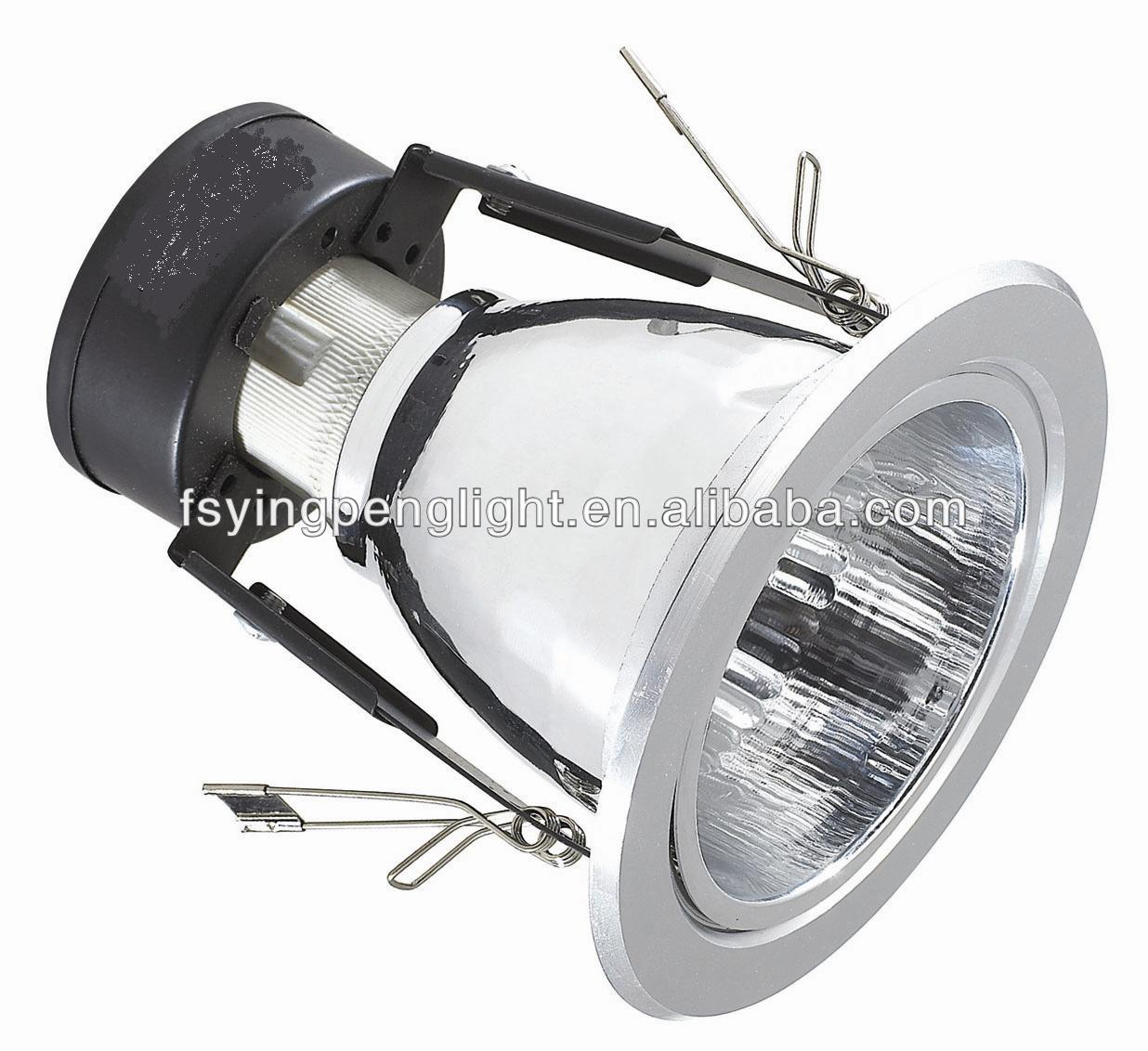 E27 recessed aluminum vertical downlight YP250A 1*E27