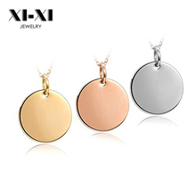 High Quality 8mm 10mm 18mm 20mm Blank Or Custom Logo Round Charm Pendant