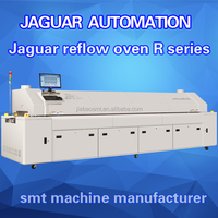 lead free SMT LED reflow oven R8 reflow soldering machine for LED chip PCB Assembly