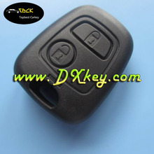 Wholesale price car remote control cover with 2 buttons for peugeot key shell key cover peugeot no logo and blade