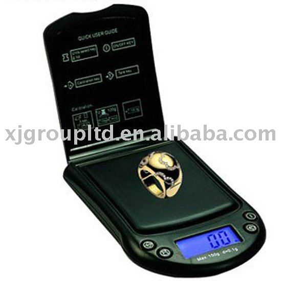 Digital weighing scale jewelry