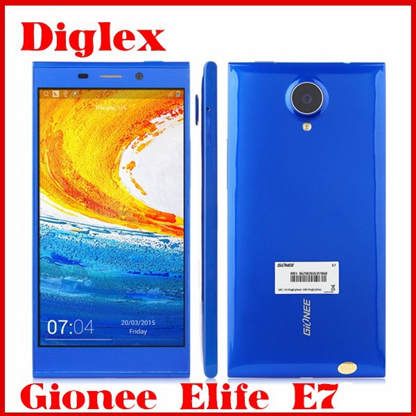 Hot Selling Gionee Mobile Phone Gionee Elife E7 Smartphone 3GB RAM 32GB ROM Android 4.2 5.5 Inch 1920*1080 16MP Cell Phone