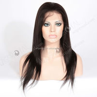 100 percent indian remy human hair lace wig for asian women