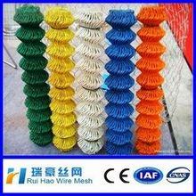 Superior Anti-corrosion vinyl colored chain link fence for decoration