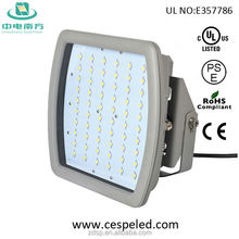 Outdoor Gas Station LED Canopy Light atex ul CE RoHS Certificated LUMINAIRE 40-185W