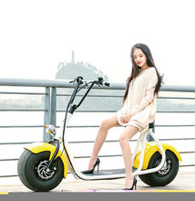 2016 yongkang factory new model Disc Brake type two wheel electric motorcycle for adults citycoco li battery electric scooter