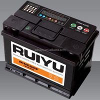 DIN66 good selling lead acid car battery made in china starter battery