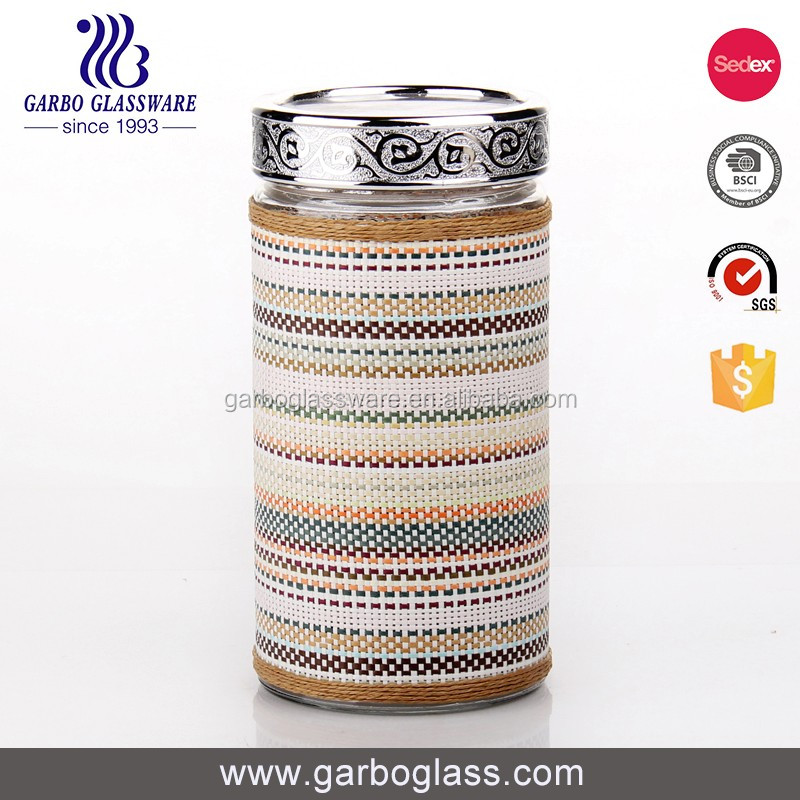 Eco-Friendly high quality 1500ml glass mason jars