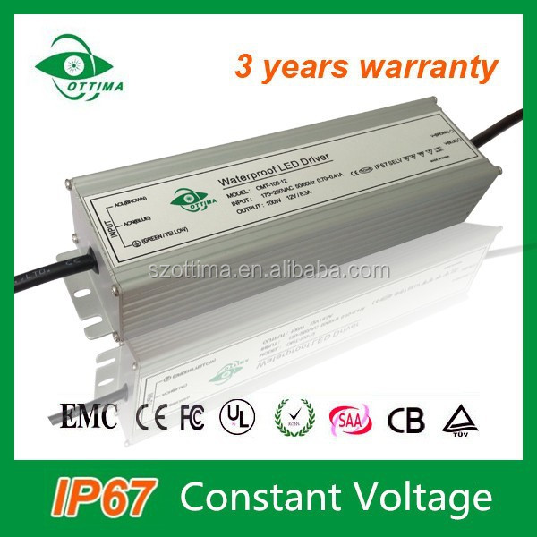 high quality waterproof IP67 constant voltage led driver 80w 24V led string light power supply