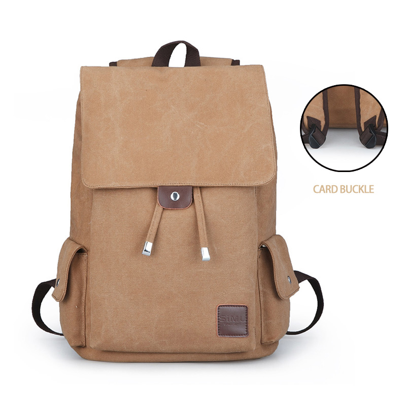 ... Bags for School Backpack Casual Rucksack  the best attitude eeca2 32ae2 Men  Male Canvas Backpack strongCollegestrong Student School Backpack  buy online  ... 0e0f3b32ba