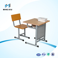 Mingxiu low price student desk and table / adjustable student desk and chair