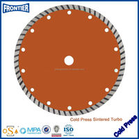 Premium Turbo cold pressed diamond saw blade concrete cutter