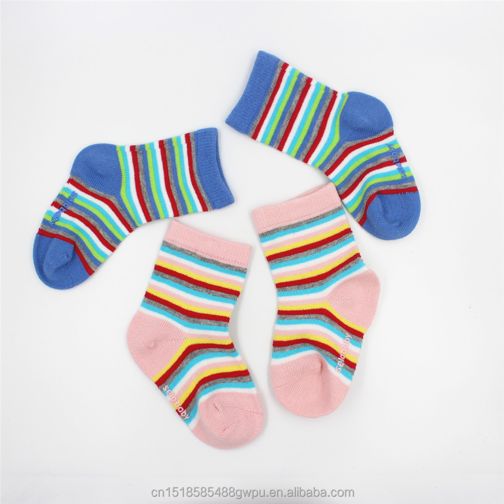 Cheap Wholesale Custom Bulk 100% Cotton Plain White Baby Socks