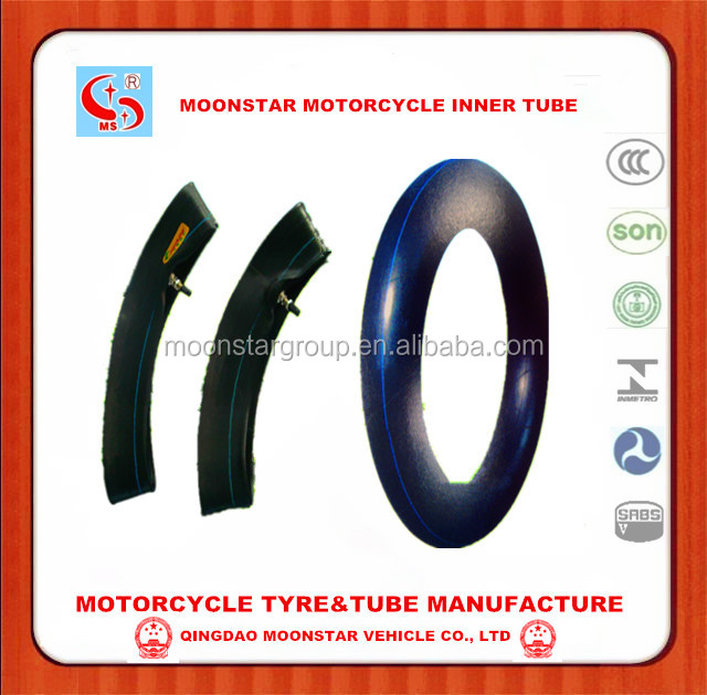 good quality natural rubber motorcycle inner tube