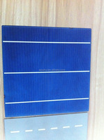 156*156 Poly Crystalline Silicon 2BB High Efficiency Solar Cell With Competitive Price
