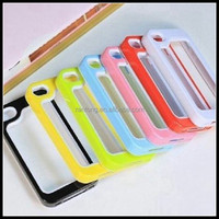 hot selling online products whloesale market china bumper phone case for iphone 4s