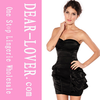 Wholesale Fashion Funky Strapless tube sex women party dress