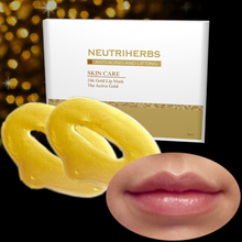 Pure Aqua Collagen lip Mask 24k lip Gold Mask Patch Mask For Anti Aging