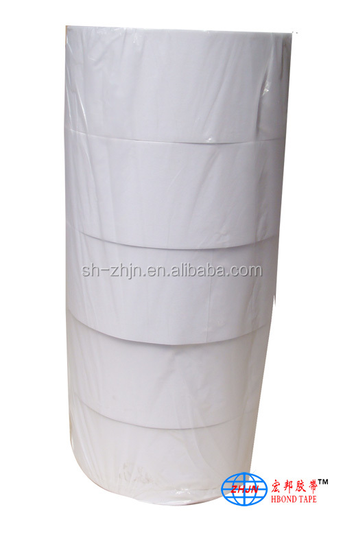 Reinforcement Webbing White and High Temperature Resistance PET Adhesvie Tape