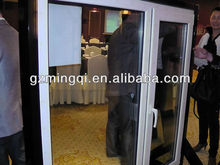 swing open pvc window and door sample